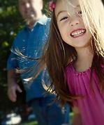 Portrait of smiling girl.