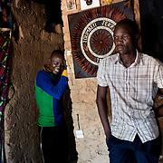 December 7th 2013, two brother mourn the loss of their brother in the Christian district of Boy Rabe. This area is said to be supporting the Anti Balaka, therefore was a attacked by the Seleka once the Anti Balaka retired from Bangui.