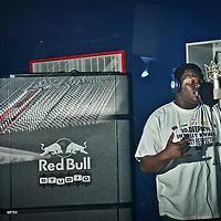 EmCee FOWl at Red Bull Studio