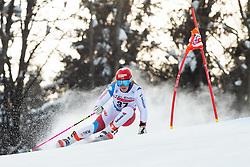 Melanie Meillard (SUI) during the Ladies' Giant Slalom at 57th Golden Fox event at Audi FIS Ski World Cup 2020/21, on January 17, 2021 in Podkoren, Kranjska Gora, Slovenia. Photo by Vid Ponikvar / Sportida