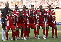 Fotball<br /> Foto: imago/Digitalsport<br /> NORWAY ONLY<br /> <br /> 08.07.2007<br /> Lagbilde Oman<br /> Mannschaftsbild Oman hi.v.li.: Torwart Ali Al Habsi, Ahmed Mubarak, Said Al Shoon, Imad Ali, Juma Al Wahaibi, Mohamed Rabia; vorn: Badar Mubarak, Ahmed Hadid, Hassan Yousuf, Ismail Al Ajmi, Yousef Shaban
