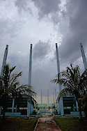 Stadium entry in Ciego de Avila, Cuba.