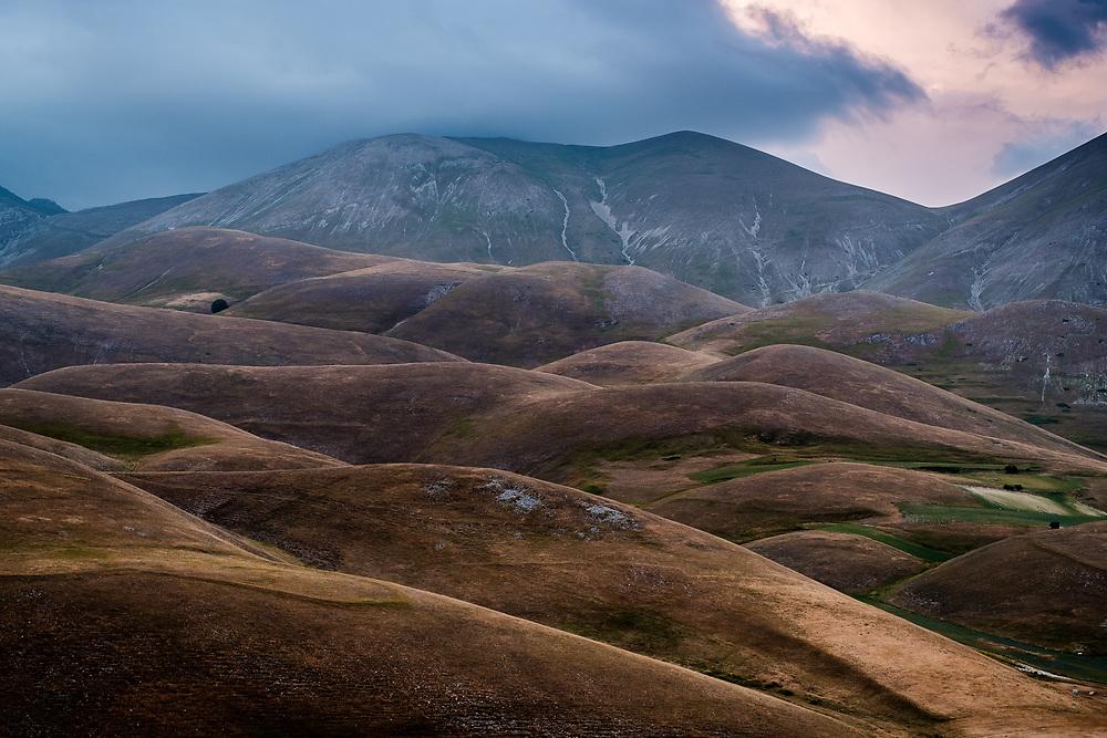Sibillini mountains. Umbria, Italy