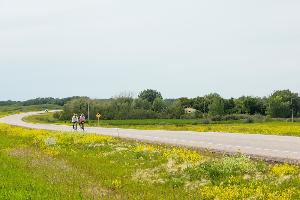 Rest stop on Highway 41, 10 km southwest of Wakaw.