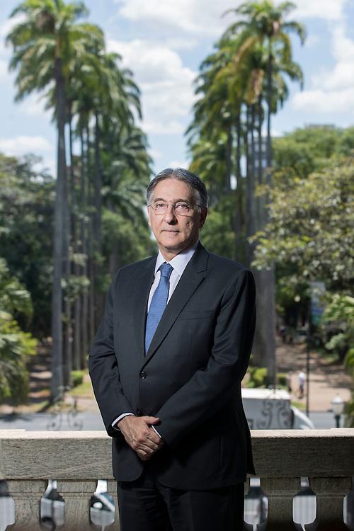 Belo Horizonte, 24 de fevereiro de 2017<br /> <br /> Retrato do governador de Mnas Gerais, Fernando Pimentel, no Palacio da Liberdade.<br /> <br /> <br /> Foto: Bruno Magalhaes / NITRO