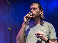 Icelandic singer-songwriter Örvar Smárason together with Sin Fang and Sóley at Gebäude 9 in Cologne