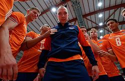17-09-2019 NED: EC Volleyball 2019 Netherlands - Estonia, Amsterdam<br /> First round group D - Netherlands win 3-1 / Team Netherlands, Thijs Ter Horst #4 of Netherlands, Wouter Ter Maat #16 of Netherlands, Fabian Plak #8 of Netherlands, Wessel Keemink #2 of Netherlands