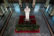 A Mao Zedong statue greets visitors at Beijing's Military History Museum.