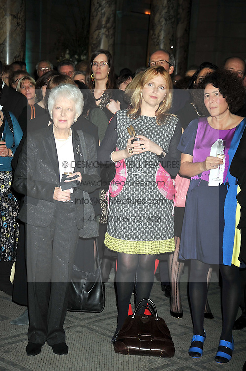 Left to right, JUNE WHITFIELD and MIRANDA RICHARDSON at the Orion Publishing Group Author Party held at the V&A, London on 18th February 2009.