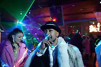 D-Funk 420 attending Bishop Don Magic Juan's 46th Annual Players Ball held in Atlanta, December 2020.