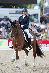 Wolf Stefanie (GER) - Elton John 13<br /> FEI World Dressage Championships for Young Horses<br /> Internationales Dressur- und Springfestival - Verden 2014<br /> © Dirk Caremans