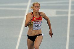 29-07-2010 ATLETIEK: EUROPEAN ATHLETICS CHAMPIONSHIPS: BARCELONA<br /> Verena Sailer wint de semi final zeer gemakkelijk<br /> ©2010-WWW.FOTOHOOGENDOORN.NL