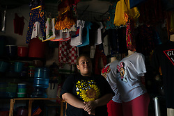 Yuri Mendoza, Jalaca, Honduras. Yuri migrated to the US but was deported. She has been helped to set up a small business by the Lutheran World Federation with support from ELCA.