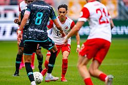 Othmane Boussaid of FC Utrecht during eredivisie round 03 between FC Utrecht and RKC at Nieuw Galgenwaard stadium on September 27, 2020 in Utrecht, Netherlands