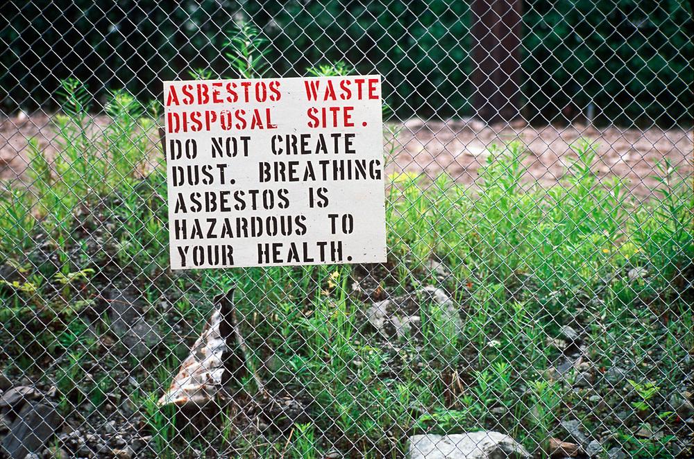 Hazardous waste warning, Alaska