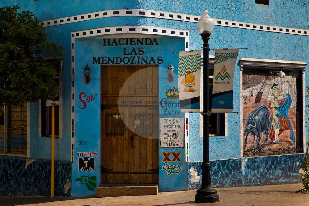 Colorful bar in Mayaguez Puerto Rico