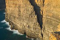 Cliff near de Arrifana Beach. Southwest Alentejo and Vicentine Coast Natural Park, Portugal.