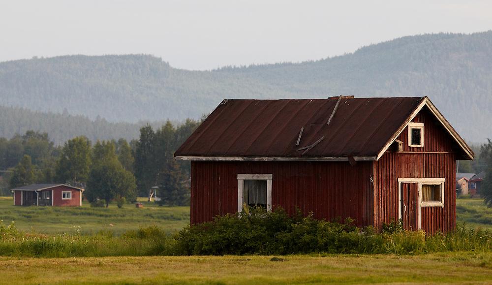 Finland Lapland - Arctic circle landscape