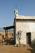 A film set for a Western, set in Texas, built near Malaga, Spain is now a tourist attraction