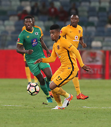during the 2016 Premier Soccer League match between Kaizer Chiefs and Baroka FC held at the Moses Mabhida Stadium in Durban, South Africa on the 2nd November 2016<br /> <br /> Photo by:   Steve Haag / Real Time Images