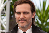 Joaquin Phoenix and at the You Were Never Really Here film photo call at the 70th Cannes Film Festival Saturday 27th May 2017, Cannes, France. Photo credit: Doreen Kennedy