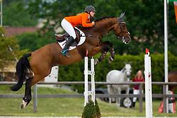 Van de Rijt Teddy, (NED), Lander Z<br /> Class 16 Nations Cup YR<br /> International Competition CSIO Young Riders Opglabbeek 2016<br /> © Dirk Caremans