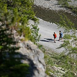 Sport Climbing at Moose Mountain in Bragg Creek, Kananaskis, Alberta, Canada