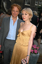 PRINCE VALERIO MASSIMO and MISS ANTONIA HEDLEY-DENT at the Tatler Summer Party in association with Moschino at Home House, 20 Portman Square, London W1 on 29th June 2005.<br /><br />NON EXCLUSIVE - WORLD RIGHTS