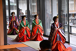 October 22, 2019, Tokyo, Japan: 22-10-2019 TOKYO Princess Mako attend the enthronement ceremony where emperor officially proclaims his ascension to the Chrysanthemum Throne at the Imperial Palace in Tokyo..../pool (Credit Image: © face to face via ZUMA Press)