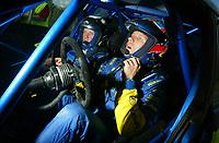AUTO - WRC 2005 - NEW ZEALAND RALLY - AUCKLAND 10/04/2005 - PHOTO : DIGITALSPORT<br /> PETTER SOLBERG (NOR) / SUBARU IMPREZA WRC - AMBIANCE - PORTRAIT