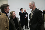 Rachel Whiteread and Dinos Chapman, Aperiatur Terra, Private View of work by  Anselm Kiefer<br />White Cube, MasonÕs Yard. - Afterwards dinner at the  NCP Brewer Street (Top<br />Floor)  London, 25 January 2007. -DO NOT ARCHIVE-© Copyright Photograph by Dafydd Jones. 248 Clapham Rd. London SW9 0PZ. Tel 0207 820 0771. www.dafjones.com.
