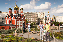 July 13, 2018 - Moscow, Russia - 180713 People are seen walking in a park in central Moscow during the FIFA World Cup on July 13, 2018 in Moscow..Photo: Petter Arvidson / BILDBYRN / kod PA / 92086 (Credit Image: © Petter Arvidson/Bildbyran via ZUMA Press)