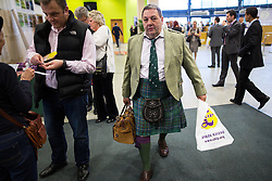 © Licensed to London News Pictures . 25/09/2015 . Doncaster , UK . DAVID COBURN at the 2015 UKIP Party Conference at Doncaster Racecourse , this morning (Friday 25th September 2015) . Photo credit : Joel Goodman/LNP