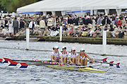 Henley, Great Britain.  The Princess Grace Challenge Cup, USA W4X. Princeton Training Center 'A' Bow  .Stesha CARLE, Megan KALMOE,  Alison COX and Natalie  DELL. Henley Royal Regatta. River Thames Henley Reach.  Royal Regatta. River Thames Henley Reach.  Friday   01/07/2011  [Mandatory Credit Peter Spurrie r/ Intersport Images] . HRR