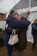 ELISABETH MURDOCH; REBEKAH BROOKS, Heythrop Point to Point. At a  new course at Cocklebarrow near Aldsworth. 11 January 2014
