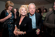 ELAINE PAGE; NIKOLAS GRACE, Book launch party for the paperback of Nicky Haslam's book 'Sheer Opulence', at The Westbury Hotel. London. 21 April 2010