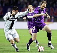 ◊Copyright:<br />GEPA pictures<br />◊Photographer:<br />Norbert Juvan<br />◊Name:<br />Rushfeldt<br />◊Rubric:<br />Sport<br />◊Type:<br />Fussball<br />◊Event:<br />UEFA Cup, Viertelfinale, FK Austria Magna Wien vs Parma FC<br />◊Site:<br />Wien, Austria<br />◊Date:<br />07/04/05<br />◊Description:<br />Daniele Bonera (Parma), Sigurd Rushfeldt (A. Wien)<br />◊Archive:<br />DCSNJ-0704051303<br />◊RegDate:<br />07.04.2005<br />◊Note:<br />9 MB - TM/TM - Nutzungshinweis: Es gelten unere Allgemeinen Geschaeftsbedingungen (AGB) bzw. Sondervereinbarungen in schriftlicher Form. Die AGB finden Sie auf www.GEPA-pictures.com. Use of pictures only according to written agreements or to our business terms as shown on our website www.GEPA-pictures.com