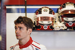 October 19, 2018 - Austin, United States - LECLERC Charles (mco), Alfa Romeo Sauber F1 Team C37, portrait during the 2018 Formula One World Championship, United States of America Grand Prix from october 18 to 21 in Austin, Texas, USA -  /   Motorsports: FIA Formula One World Championship; 2018; Grand Prix; United States, FORMULA 1 PIRELLI 2018 UNITED S GRAND PRIX , Circuit of The Americas  (Credit Image: © Hoch Zwei via ZUMA Wire)