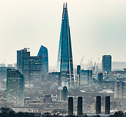 February 1, 2020, London, England, United Kingdom: This is a picture taken from London's Shooters Hill on Feb 1, 2020, one after the UK left the EU on the 31st of January 2020, after a public vote (known as a referendum) was held in June 2016, when 17.4 million people opted for Brexit. This gave the Leave side 52%, compared with 48% for Remain. .After 31 January 2020, there will be a transition period until the end of 2020, while the UK and EU negotiate additional arrangements. The current rules on trade, travel, and business for the UK and EU will continue to apply during the transition period. (Credit Image: © Vedat Xhymshiti/ZUMA Wire)