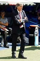 Osasuna coach Enrique Martin Monreal during a match of La Liga Santander at Santiago Bernabeu Stadium in Madrid. September 10, Spain. 2016. (ALTERPHOTOS/BorjaB.Hojas)