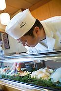 Sushi made by Masatoshi Yoshino, at his restaurant Yoshino Sushi Honten, Tokyo, Japan