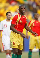 Photo: Steve Bond/Richard Lane Photography.<br /> Guinea v Morocco. Africa Cup of Nations. 24/01/2008. Bobo Balde of Guinea and Celtic awaits a corner
