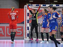KOLDING, DENMARK - DECEMBER 5: Weronika Gawlik during the EHF Euro 2020 Group D match between Poland and Romania in Sydbank Arena, Kolding, Denmark on December 5, 2020. Photo Credit: Allan Jensen/EVENTMEDIA.