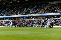 Bristol Rovers' Lee Brown scores a free kick - Photo mandatory by-line: Dougie Allward/JMP - Mobile: 07966 386802 26/04/2014 - SPORT - FOOTBALL - High Wycombe - Adams Park - Wycombe Wanderers v Bristol Rovers - Sky Bet League Two