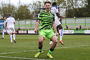 Forest Green Rovers v Tranmere Rovers 010521