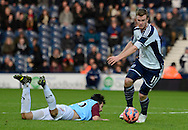 Chris Brunt during the The FA Cup match between West Bromwich Albion and Gateshead at The Hawthorns, West Bromwich, England on 3 January 2015. Photo by Alan Franklin.