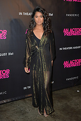 August 29, 2018 - New York, NY, USA - August 29, 2018  New York City..Danielle Lyn attending 'An Actor Prepares' film premiere on August 29, 2018 in New York City. (Credit Image: © Kristin Callahan/Ace Pictures via ZUMA Press)