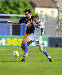 Bristol Rovers' Tom Lockyer battles for the ball - Photo mandatory by-line: Joe Meredith/JMP - Mobile: 07966 386802 03/05/2014 - SPORT - FOOTBALL - Bristol - Memorial Stadium - Bristol Rovers v Mansfield - Sky Bet League Two