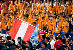 Flag of Austria at Closing Ceremony during Day 11 of the Rio 2016 Summer Paralympics Games on September 18, 2016 in Maracanã Stadium, Rio de Janeiro, Brazil. Photo by Vid Ponikvar / Sportida