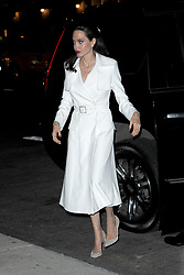 September 15, 2017 - New York, NY, USA - September 14, 2017 New York City..Angelina Jolie was seen on September 14, 2017 in New York City. (Credit Image: © Kristin Callahan/Ace Pictures via ZUMA Press)